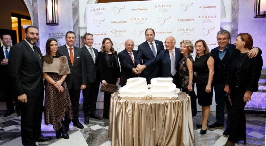 Conrad Istanbul Bosphorus Celebrated Its 25th Anniversary